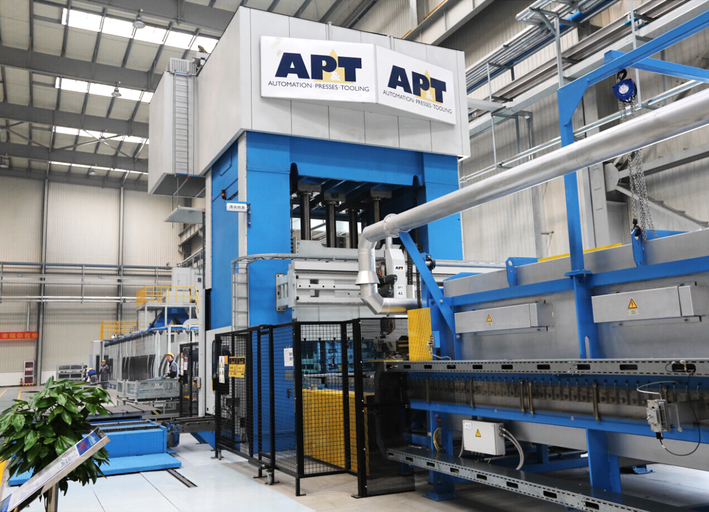 China's largest SUV and pickup manufacturer initiating press hardening – Great Wall Motors selects production line from AP&T
