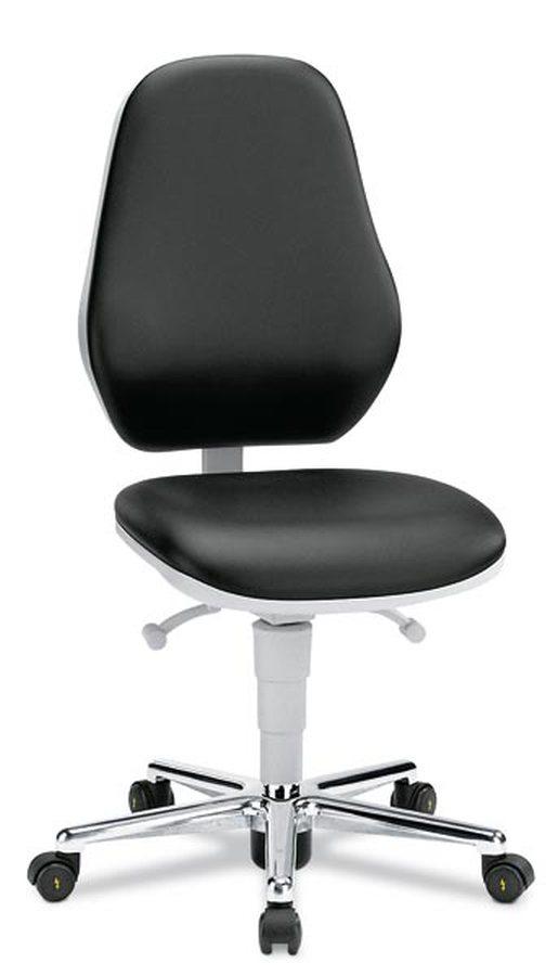 Unverzichtbar überall dort, wo hohe Anforderungen an Reinheit und Sterilität gestellt werden Ergonomisch geformter Sitz