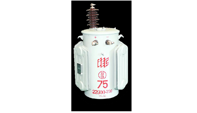 Polo del trasformatore è installato nelle linee di distribuzione di KEPCO. Di solito è installato su pali elettrici per