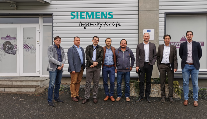 International meeting with company Siemens