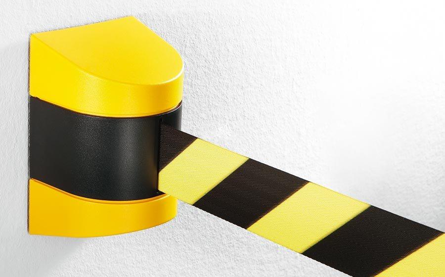 Gurtabsperrung in Kunststoffkassette