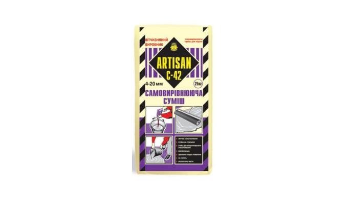 Amestec autonivelant pentru podea ARTISAN C-42&#x3b;strat 4 -20mm&#x3b; 25 kg