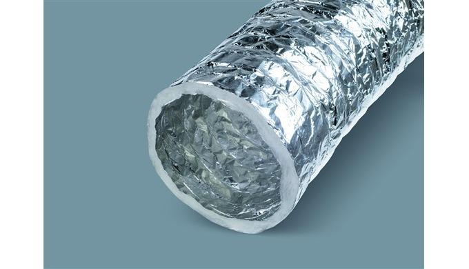Orta ve düşük basınçlı ısıtma, soğutma, havalandırma ve atık gaz geçiş hatlarında kullanılmak üzere geliştirlmiş kendind
