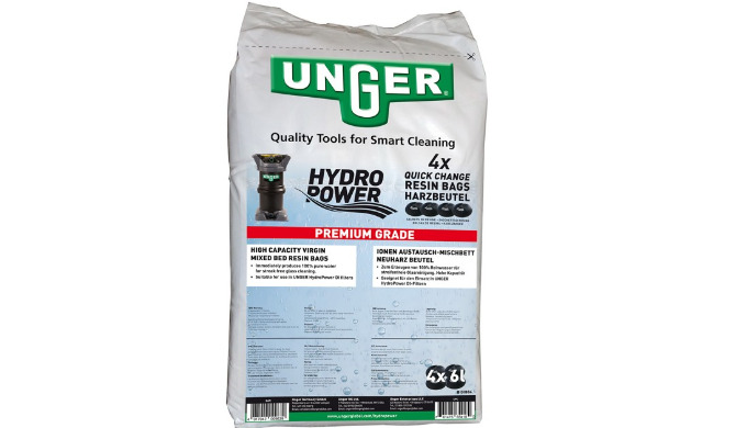 4 sachets (24l) dans un sac hermétique. Idéale pour les filtres HydroPower DI.