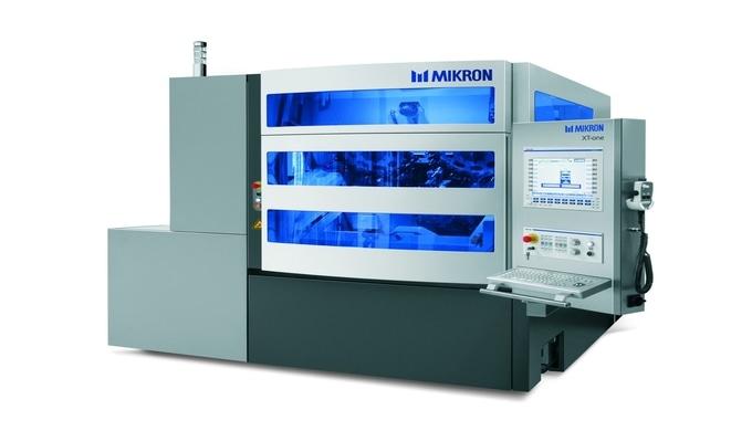 Das Bearbeitungssystem Mikron XT-one ist weltweit eine der vielseitigsten und präzisesten Maschinen zur Bearbeitung komp