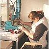 Fabrication de pièces en caoutchouc par injection et compression sous vide Fabrication de pièces en PTFE par frittage et