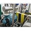 Liquid ring vacuum pumps rang up to 375 m3/min flow and a relative pressure (vacuum) of 685 mm Hg. The liquid ring vacuu