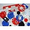 Matières utilisées : Nylon, Polyéthylène, P.T.F.E, nylatron, PVC..., dans des épaisseurs de 0.38 à 2 mm.Certains produit