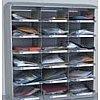 Casier sur plan de travail l x p x h : 900 x 400 x 1030 mmLargeur d'une case = 295 mm Etagères ergonomiques pour une pri